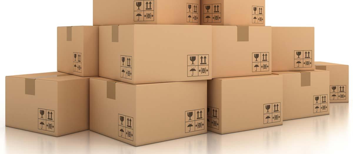 Emballage de boite et déménagement