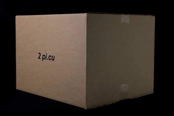 Boite de carton 2 pi cu